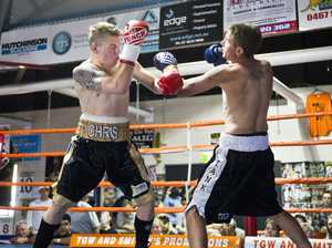 Sunday fights at Smithy's Gym