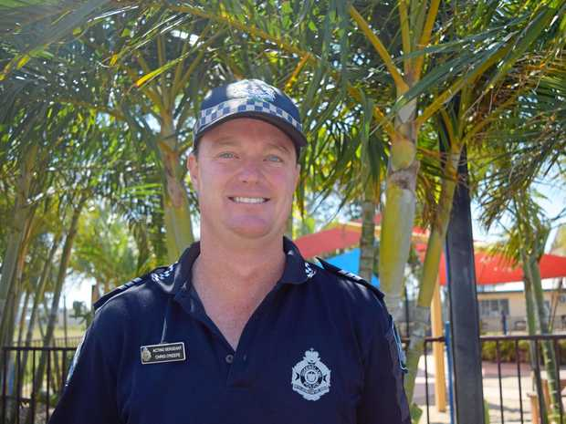 Acting Sergeant Chris O'Keefe is just happy the nightmare of the past five years is over.