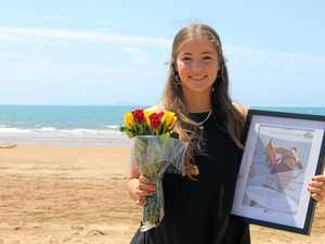 Heroic Sarina teen risks life to save man drowning at sea