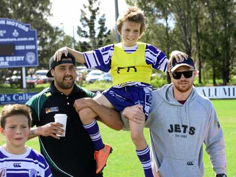 FLASHBACK: Brothers junior rugby league player Max Bishop the day he played his last game of rugby league in August 2016.