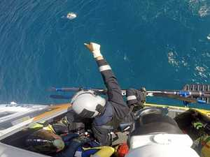 Boaties rescued after tinny flips near Gloucester Island