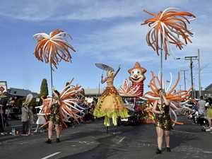 FULL WINNERS: Parade a floral and fun affair