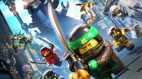School holiday movies. The Lego Ninjago Movie