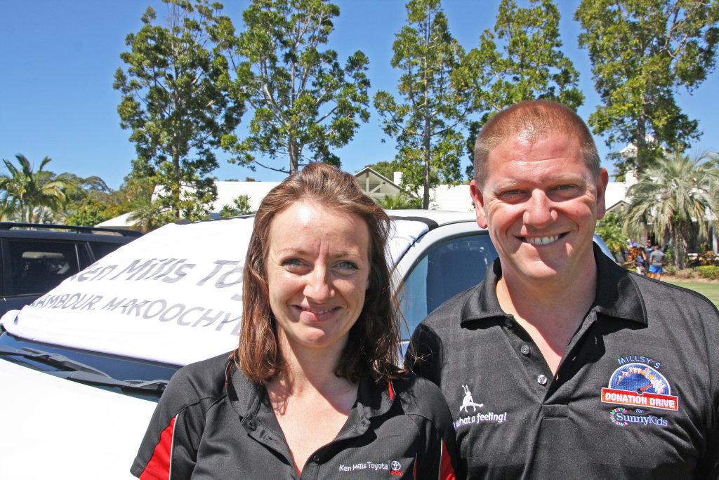 Ken Mills Toyota >> Kimberley Rider And Shawn Loffler Of Ken Mills Toyota At
