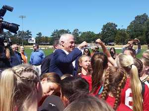 Prime Minister inspects Coffs stadium ahead of major upgrade
