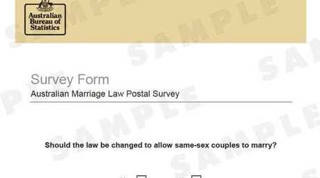 The survey for same-sex marriage is about to hit Australian letterboxes after a challenge in the High Court failed to stop its release.
