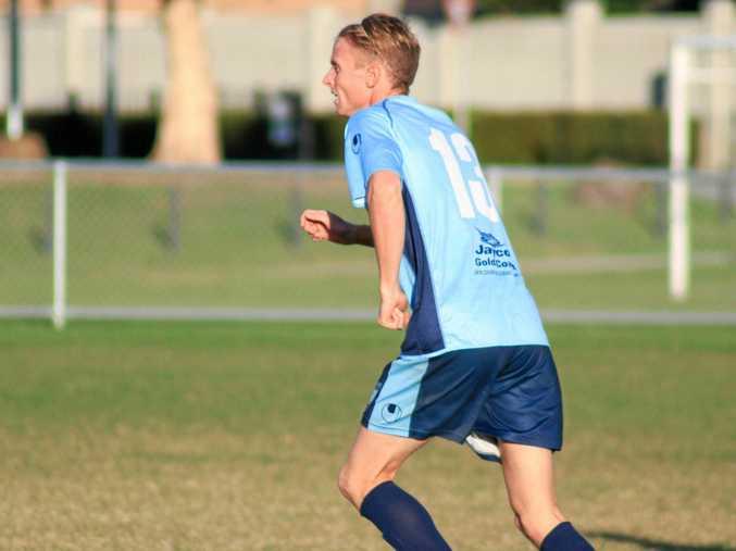 Tweed United midfielder Matthew Noble was a key to the Marlins' landmark season.