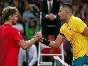 Aussies sent packing from Davis Cup title race