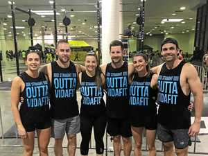Rocky crossfit team powers into national finals