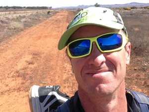 Ipswich man running across Australia passes halfway mark