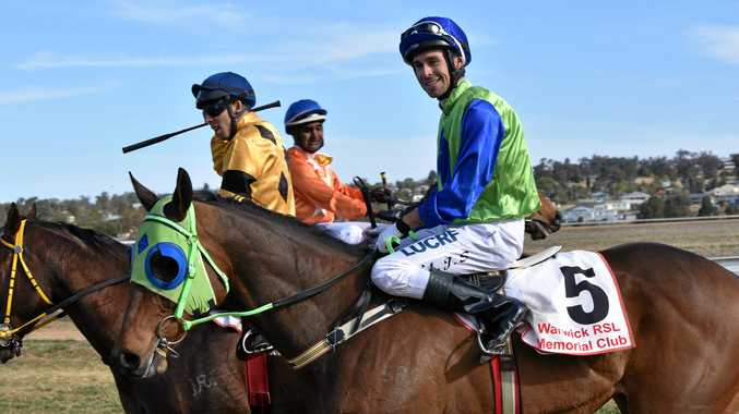 JUBILATION: Michael Schrapel was all smiles after creating history at Allman Park on Saturday.