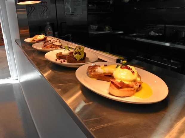 Boyne Island's bakery Bakin' BITS has expanded by opening a café.