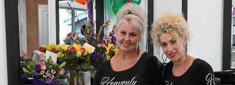 HEAVENLY SECRETS: Melanie Reeves and Lisa Hodge.