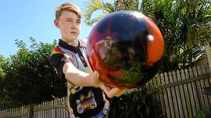 13-year-old Jordan Harrold of Bundamba has been picked in the Queensland Ten Pin Bowling Development Squad.