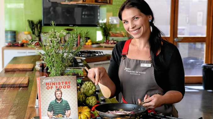FINE TASTE: Jamie's Ministry of Food Ipswich centre manager Alina Paff.