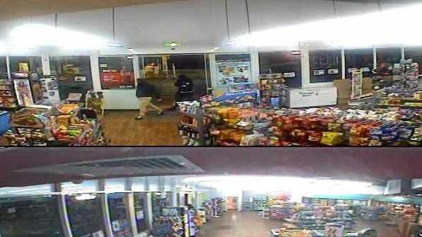CCTV: JOSHUA Moras has been accused of robbing a servo.