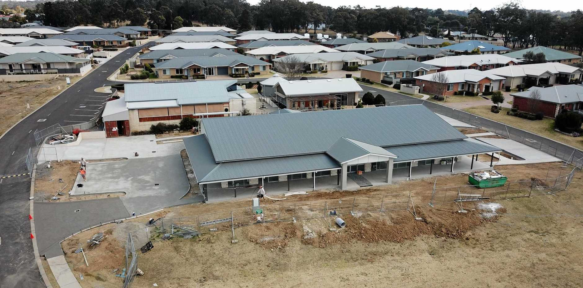 A new clubhouse at Churches of Christ Regency Park Retirement Village in Warwick is on track to be completed in November.