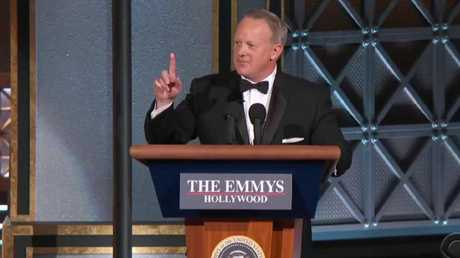 Yep, that's the real Sean Spicer.