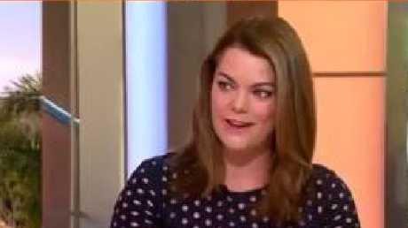 Senator Sarah Hanson-Young on Sunrise today.