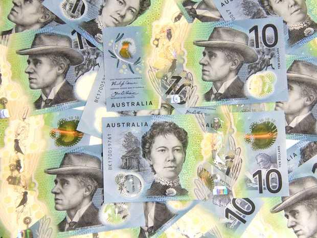 MONEY: Australia's new $10 banknote.