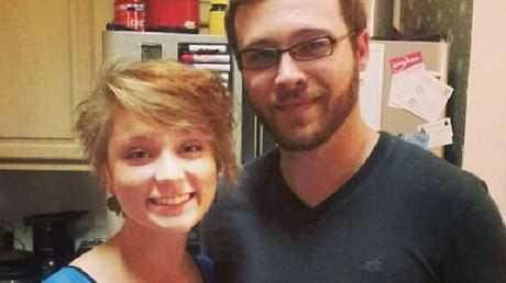 Meredith Lane and her ex-husband Spencer Hight.Source:Facebook