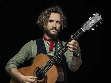 John Butler is the lead singer of the band John Butler Trio. Supplied by Jones PR. Please credit photo to Kane Hibberd.