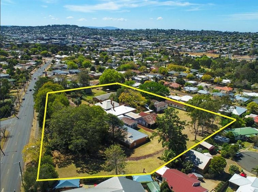 24-36 Drayton Road, Harristown, is being billed as a great development opportunity.
