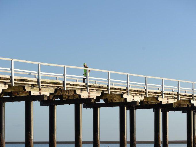 Urangan Pier, Hervey Bay.