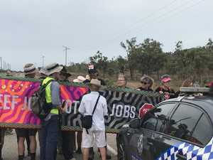 Adani protest blockade attempts to paralyse Abbot Point