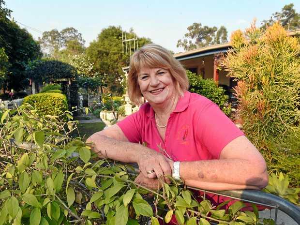 Maryborough Open House and Garden.  Joy Duke in her well tended Aldershot garden.
