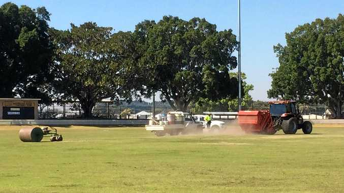 Work has begun on all Clarence Valley cricket pitches with the season three weeks away.