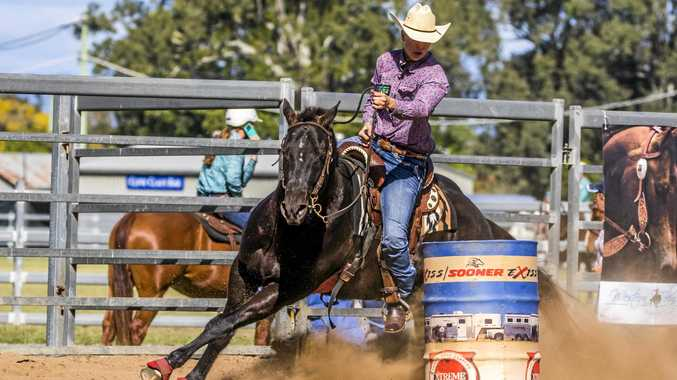 Veronica Coulter is heading to the USA to compete in the National Barrel Horse Association World Championships in October 2017.
