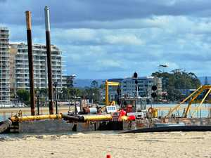 Sand-pumping set to be repeated in two years