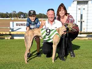 Seth, Timothy and Cathy Jones with Cabello Mucho, who won the Derby Cup.
