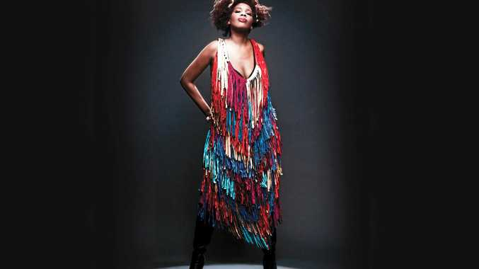 TOURING: American singer, songwriter, musician, record producer, and actress Macy Gray.