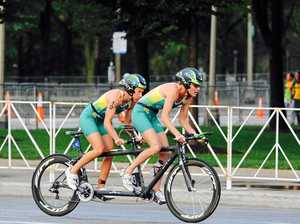 Triathletes win gold at world championships