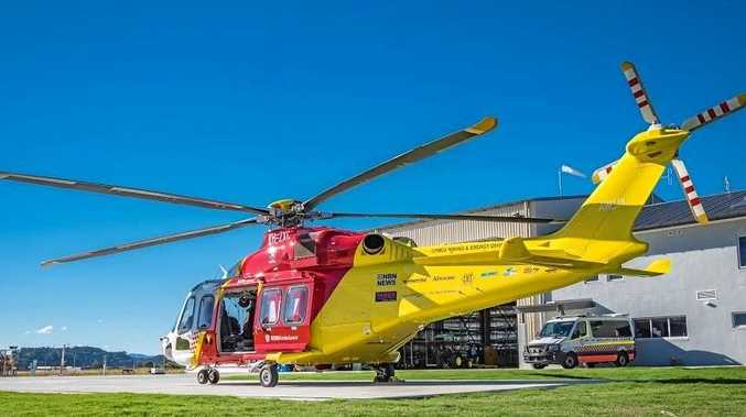 COFFS MISSION: The Westpac Rescue Helicopter transported a 15-year-old boy, suffering from a medical condition, from Coffs Harbour Base Hospital to John Hunter Hospital.