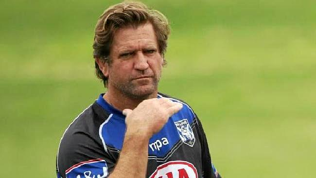Axed ... Des Hasler's time at the Bulldogs is up.