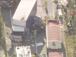 One killed, Two injured in truck crash