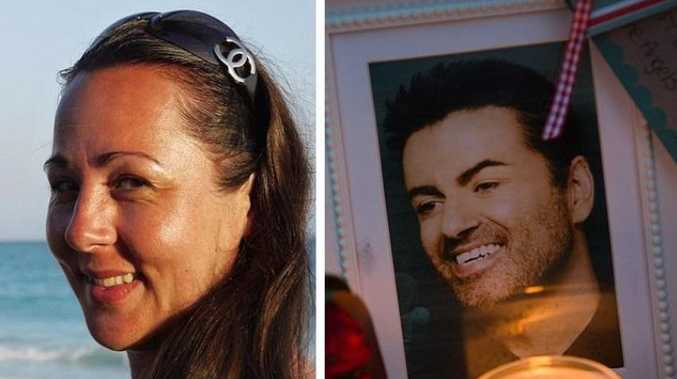 George Michael anonymously gave $15,000 for IVF treatment to Lynette Gillard (left)