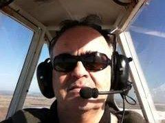 Wife witnesses husband's fatal glider crash