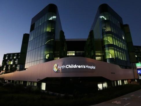 Perth Children's Hospital. Picture: Nic Ellis.