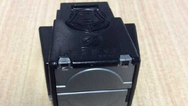 The Taser cartridge, dropped by Queensland Police, looks like this.Source:Supplied
