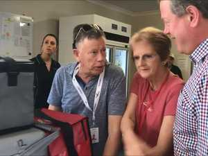 Tim Nicholls visits Hervey Bay