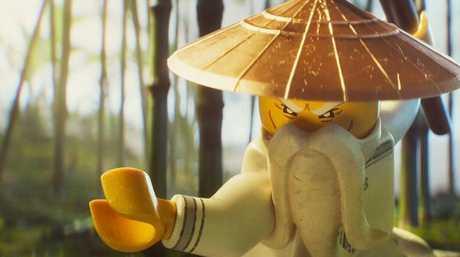 A scene from The LEGO Ninjago Movie.