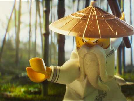 A scene from The LEGO Ninjago Movie.