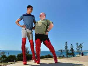 KINKY BOOTS: They're big shoes to Phil