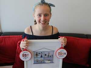 INSPIRING: Deaf child, 12, creates a monster business