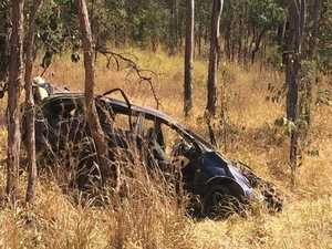 Man and child from Mt Morgan die in horror crash
