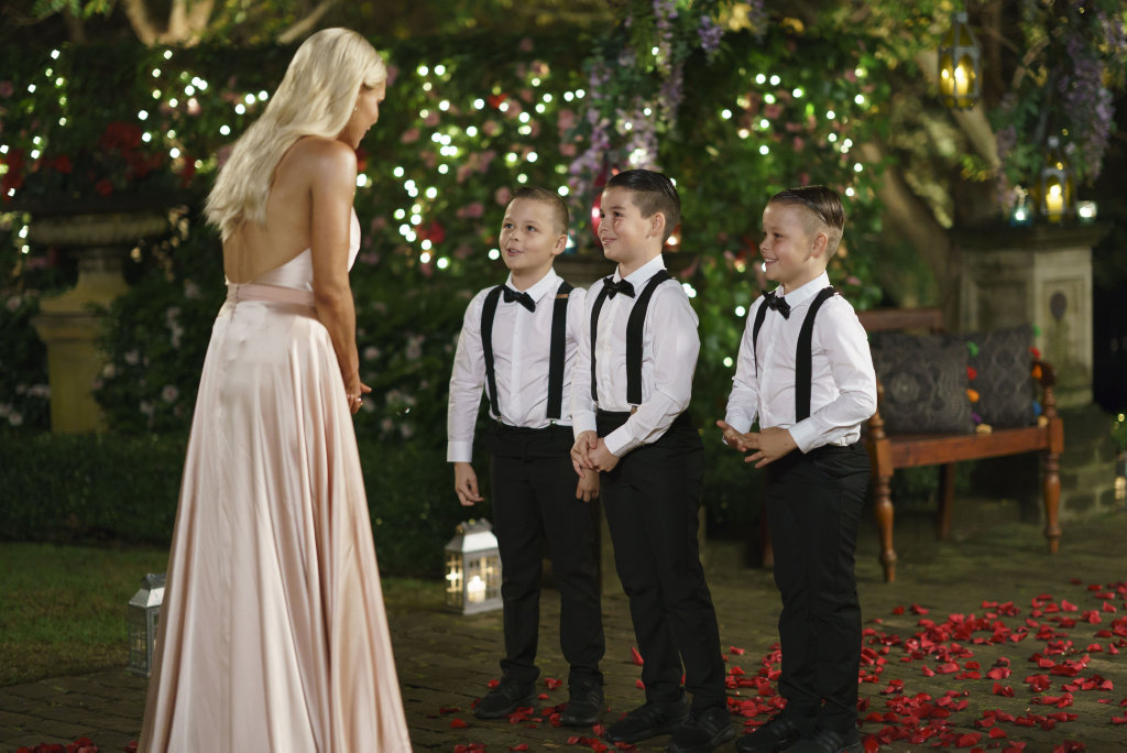 Sophie Monk meets the nephews of one of her suitors in the series premiere of The Bachelorette.